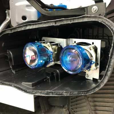 Avata độ đèn pha led cho ô tô